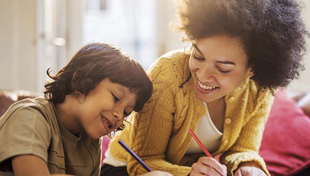 mother-son-doing-homework